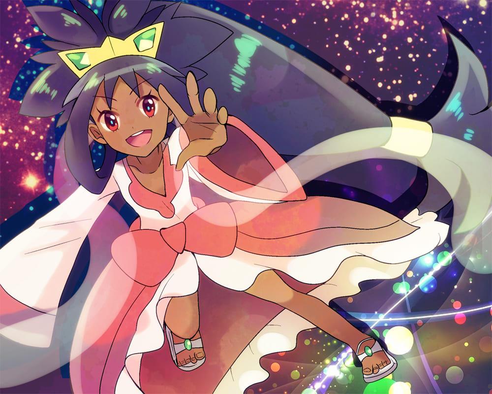 Iris nhan vat nu duoc yeu thich Trong TV Series Pokemon mobavn.com